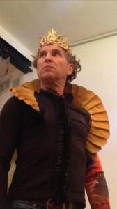 ירון מרגולין בתפקיד לאונטס מלך סיצילה - אוגוסט 2014